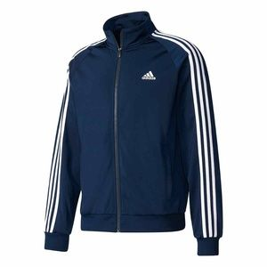 adidas Men's Essentials Tricot Soccer Track Jacket